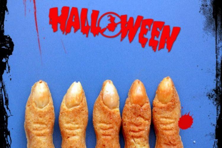 Paluchy wiedźmy, czyli kruche ciasteczka na Halloween