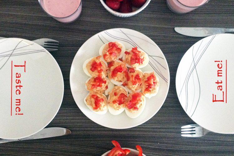 Paprykowa pasta jajeczna – pomysł na lekkie śniadanie