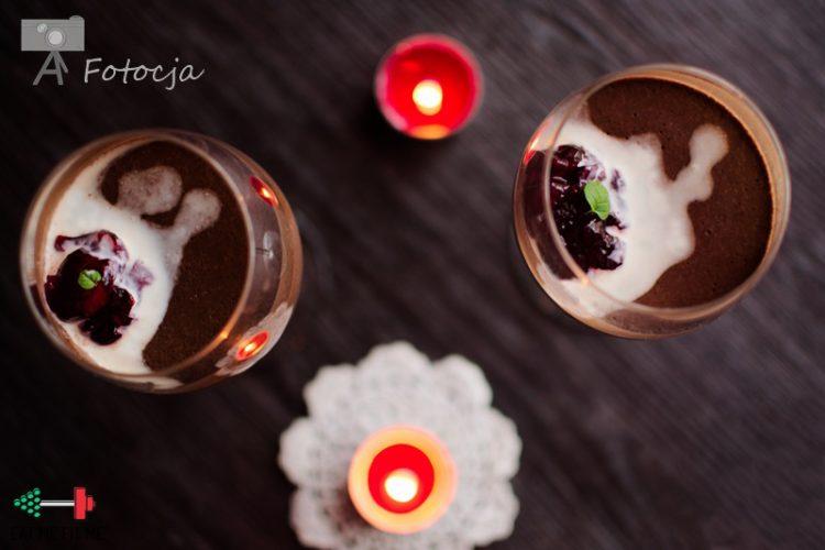Obłędnie aksamitny krem czekoladowy, czyli czas trochę walentynkowo pogrzeszyć ;p