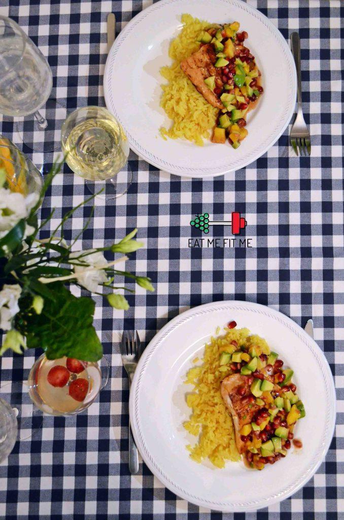przepis-na-lososia-pieczonego-z-salsa-mango-awokado-granat-blog-kulinarny-eatmefitme-2 kopia